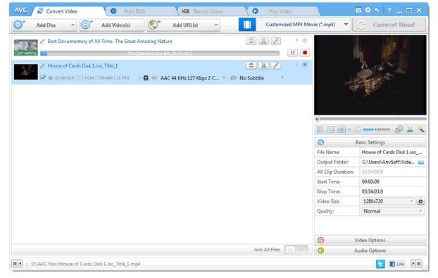 AVC File Converter