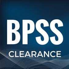 BPSS UK Government Baseline Personnel Security Standard clearance obtained