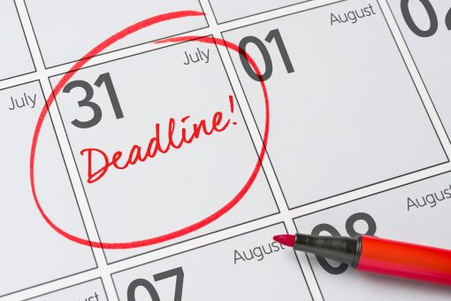 University Research Funding Budget Deadlines