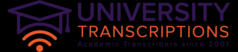 University Transcriptions logo