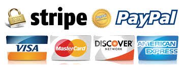 Credit card, debit card payment options